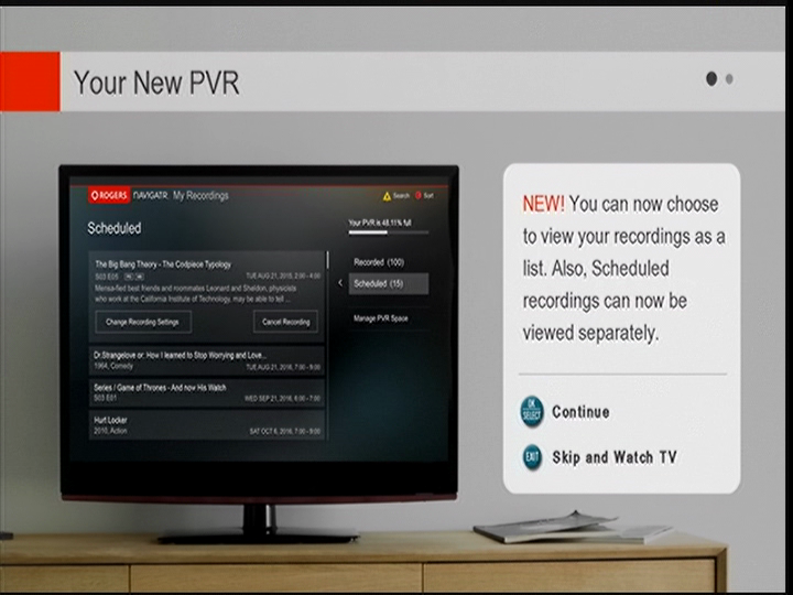 Your New PVR