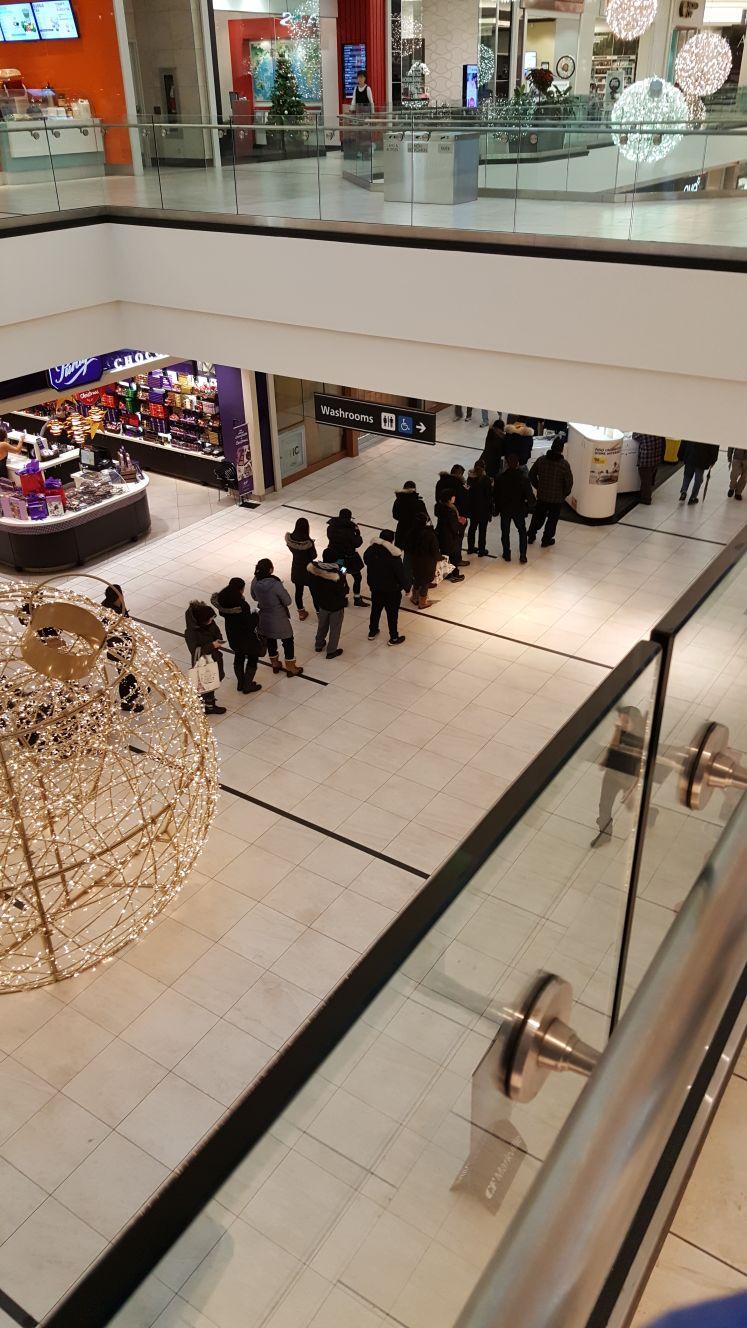 Infront of Roger's Store Markville Mall