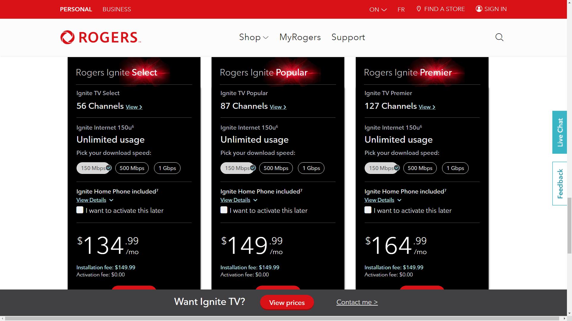 Ignite TV bundle prices.png