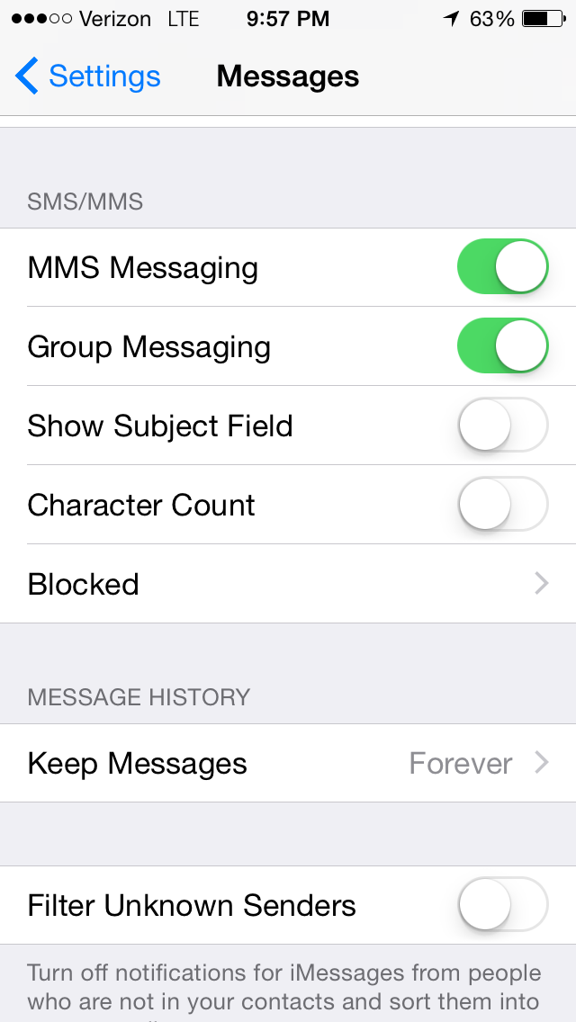 iphone not receiving group texts texts not working on iphone 4s after switchi 7517