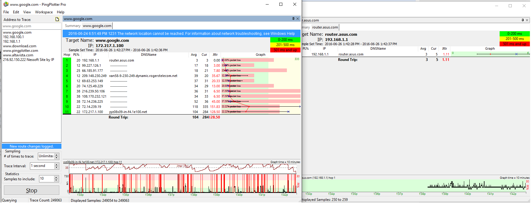 Solved: Suffering Packet loss - Page 4 - Rogers Community