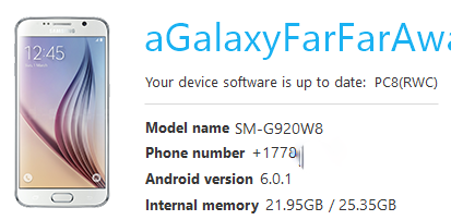 Solved: Samsung Galaxy S6 Edge Marshmallow Update? - Rogers