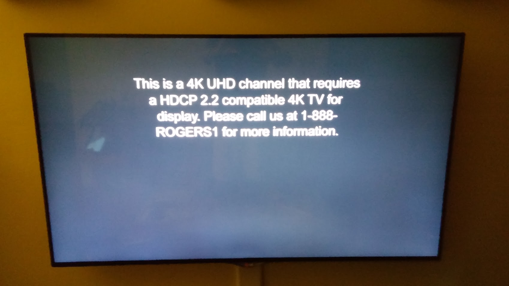 New 4K Box HDCP 2 2 Update Causes Issues - Page 5 - Rogers